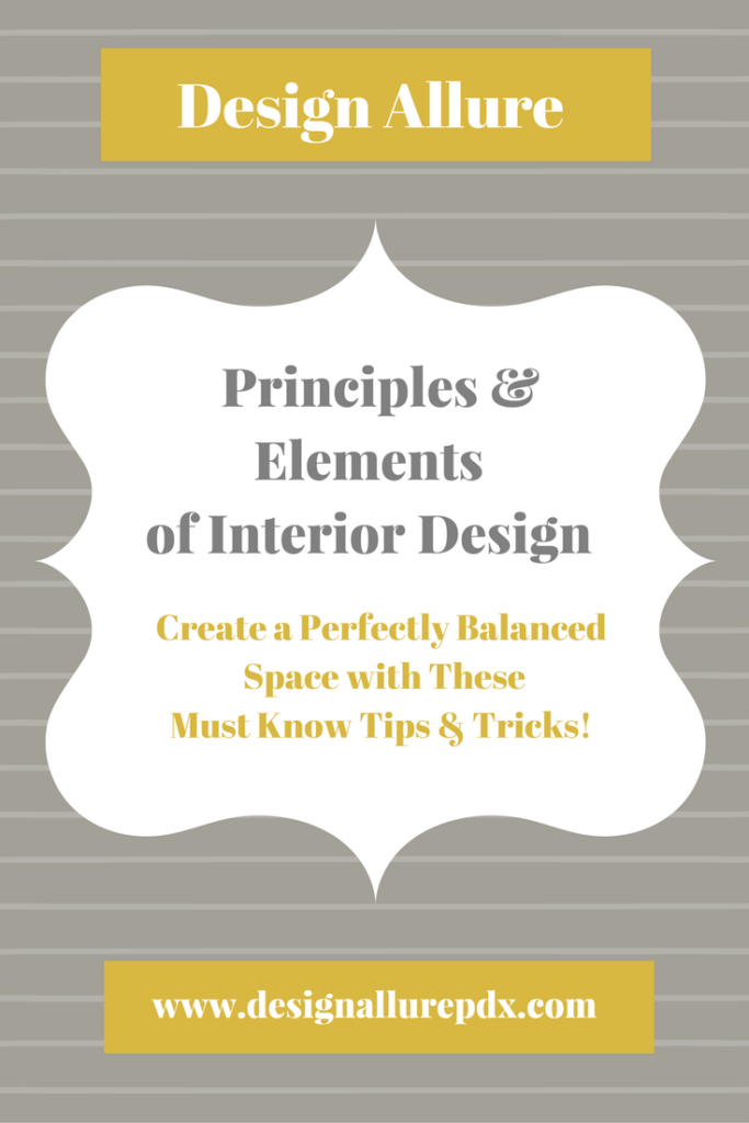 Design allure llc blog principles and elements of for Elements of interior design