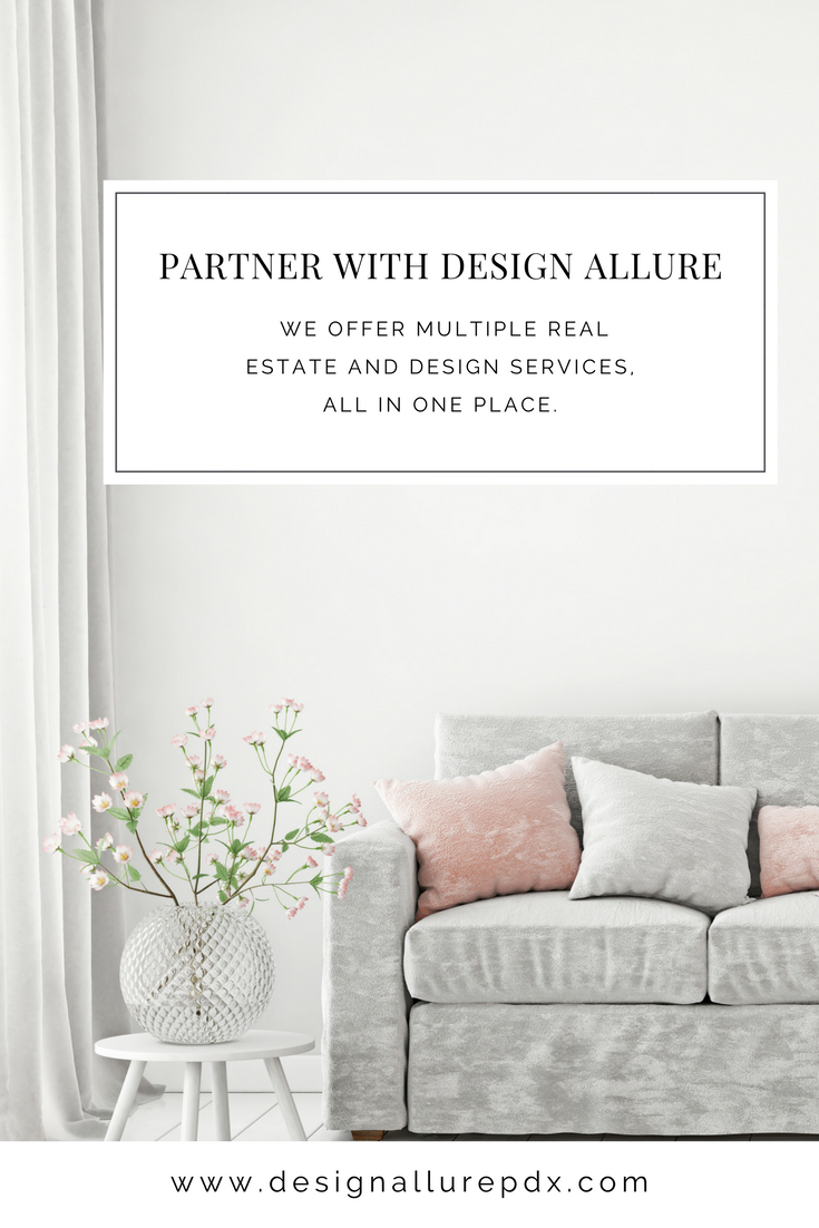 Design Allure partners with service provider affiliates to offer multiple real estate and design services, all in one place.