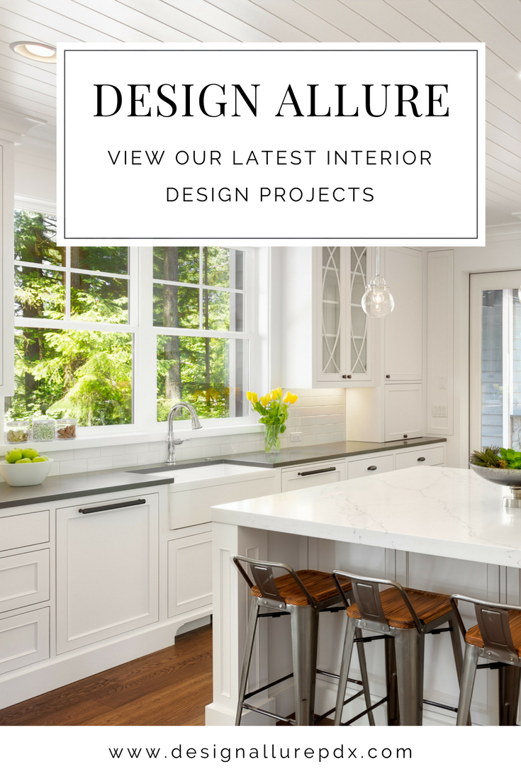Design Allure is a Portland based interior design firm featuring their latest projects from commercial interior design to residential interior design.