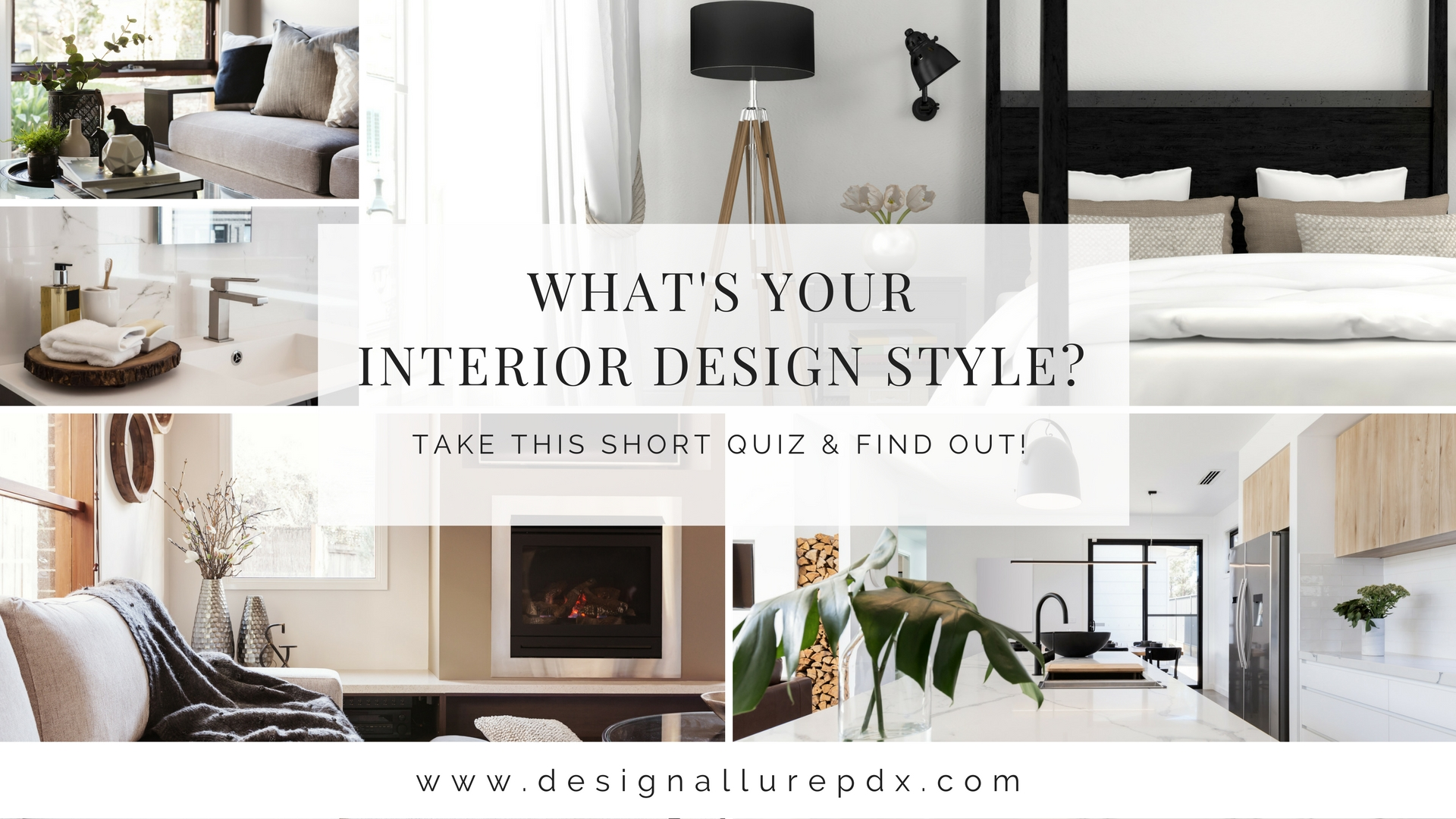 Design Allure  Interior Design Style Quiz l Online Interior