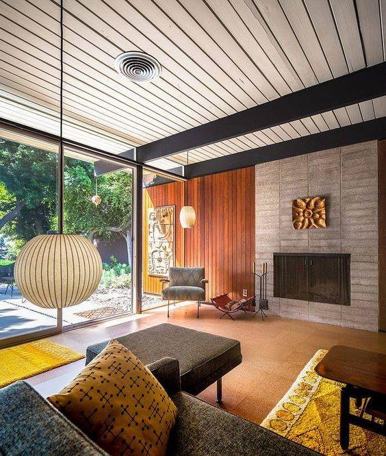 mid century modern interior design - Popular Interior Design