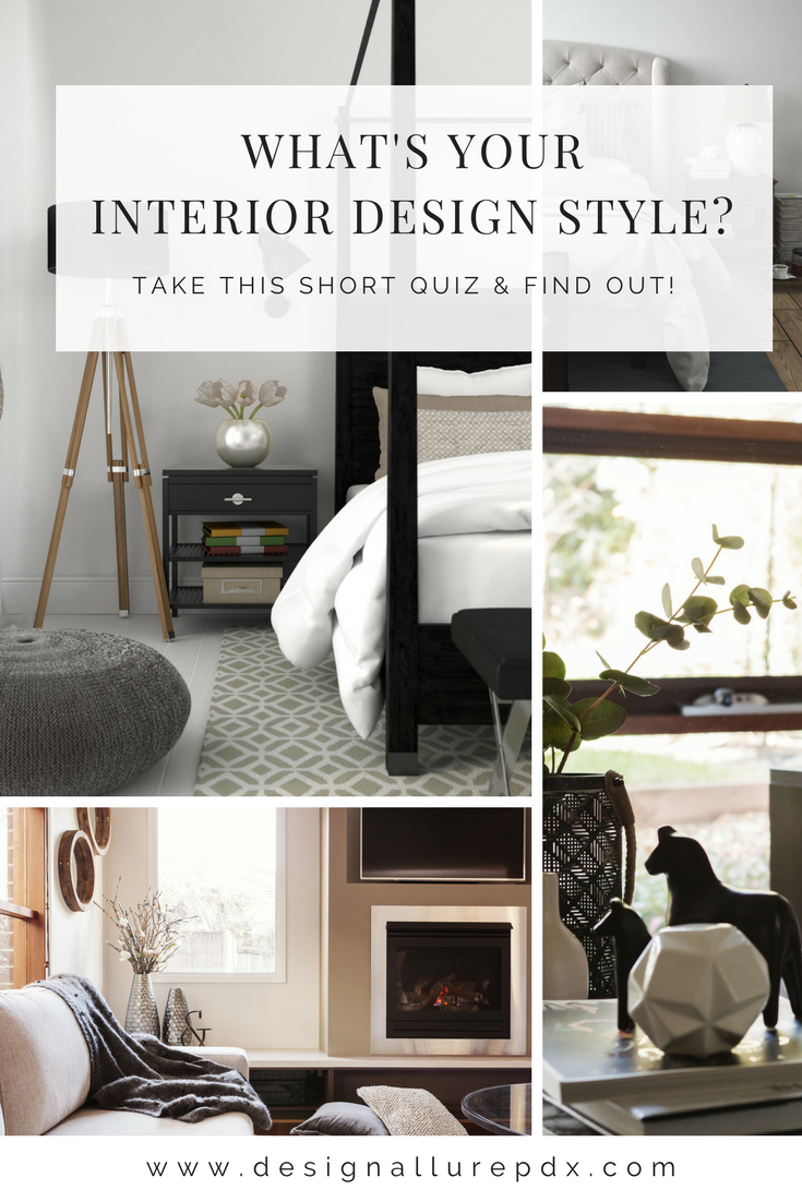 Design Allure features a new and improved way of finding our what your interior design style is. Take the free interior design style quiz today and no longer wonder or worry about not really knowing or understanding your interior design style again!