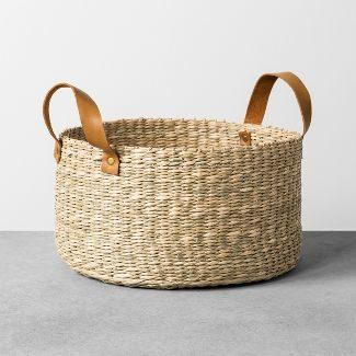 modern farmhouse basket