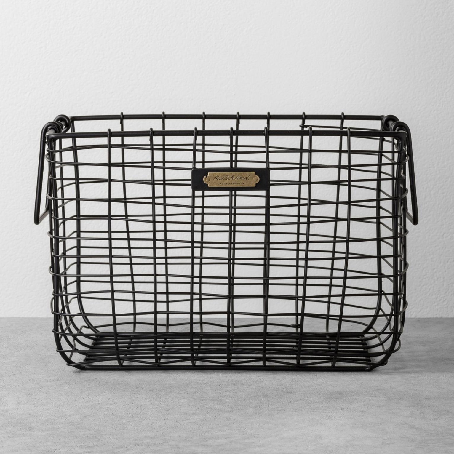 wire farmhouse basket
